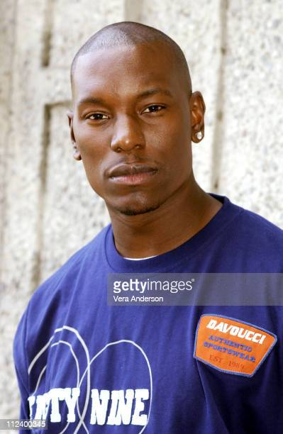 Tyrese during '2 Fast 2 Furious' Press Conference with Tyrese Eva Mendes Devon Aoki John Singleton and Paul Walker at The W Hotel in Westwood...