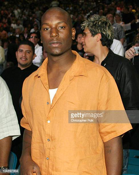 Tyrese during Shane Mosley vs Oscar De LaHoya at MGM Grand Garden Arena in Las Vegas NV United States