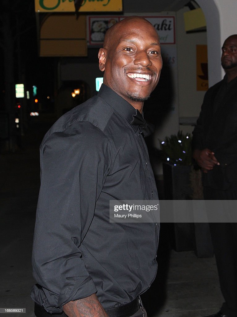 <a gi-track='captionPersonalityLinkClicked' href=/galleries/search?phrase=Tyrese&family=editorial&specificpeople=206177 ng-click='$event.stopPropagation()'>Tyrese</a> Gibson arrives at Icon Stevie Wonder's 63rd Birthday Celebration at House of Music & Entertainment on May 11, 2013 in Beverly Hills, California.