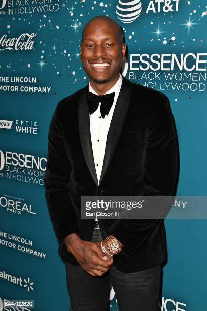 Tyrese Gibson at Essence Black Women in Hollywood Awards at the Beverly Wilshire Four Seasons Hotel on February 23 2017 in Beverly Hills California