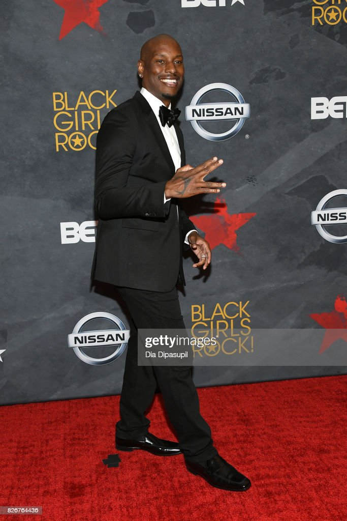 Tyrese Gibson attends Black Girls Rock! 2017 at NJPAC on August 5, 2017 in Newark, New Jersey.
