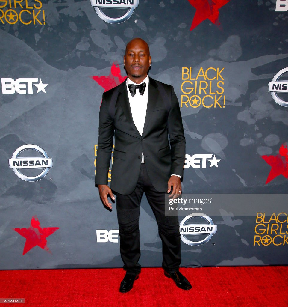 Tyrese Gibson attends the 2017 Black Girls Rock! at New Jersey Performing Arts Center on August 5, 2017 in Newark, New Jersey.