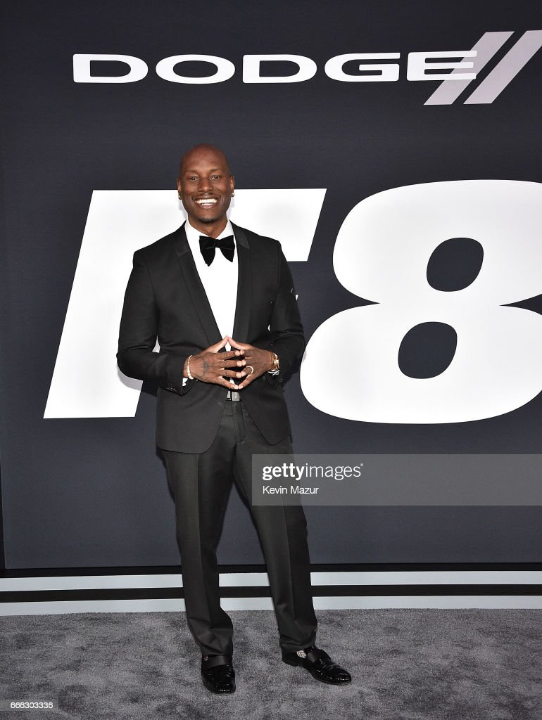 Pics photos tyrese gibson picture 8 - Tyrese Gibson Attends The Fate Of The Furious New York Premiere At Radio City