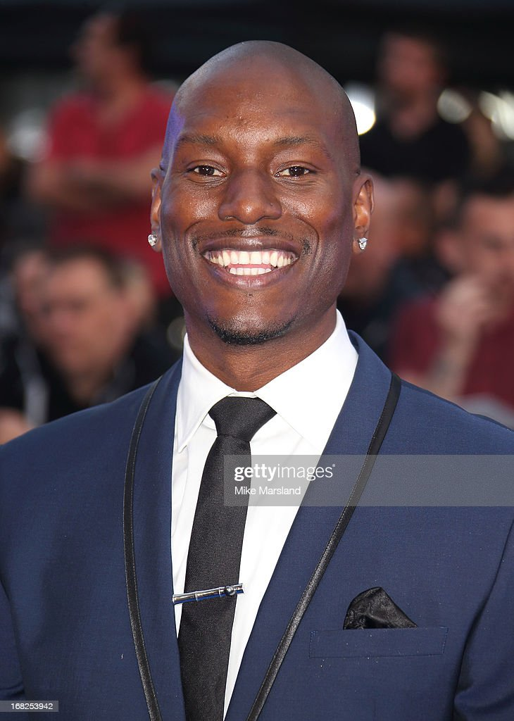 <a gi-track='captionPersonalityLinkClicked' href=/galleries/search?phrase=Tyrese&family=editorial&specificpeople=206177 ng-click='$event.stopPropagation()'>Tyrese</a> Gibson attends the World Premiere of 'Fast & Furious 6' at Empire Leicester Square on May 7, 2013 in London, England.