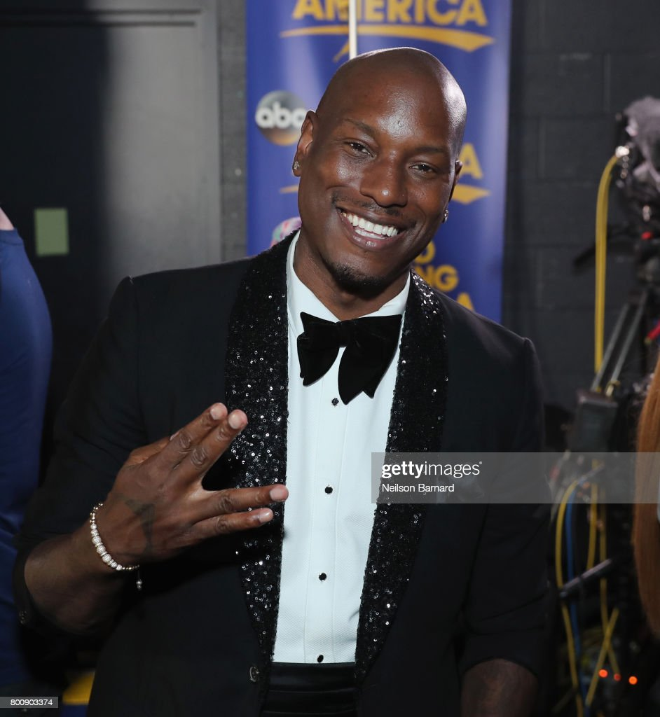Tyrese Gibson backstage at the 2017 BET Awards at Microsoft Theater on June 25, 2017 in Los Angeles, California.