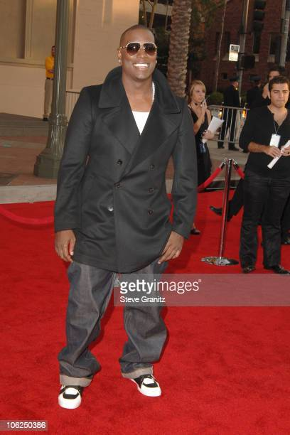 Tyrese Gibson during 2006 American Music Awards Arrivals at Shrine Auditorium in Los Angeles California United States