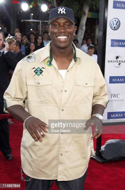 Tyrese Gibson during 'Miami Vice' Los Angeles Premiere Arrivals at Mann Village in Westwood California United States