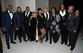 Tyrese Gibson Usher Earth Wind and Fire Mavis Staples Jennifer Hudson Whoopi Goldberg and Sam Moore attend the 37th Annual Kennedy Center Honors at...