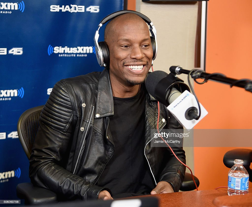 Pics photos tyrese gibson picture 8 - Tyrese Gibson Visits Sway In The Morning On Shade 45 At Siriusxm Studios On