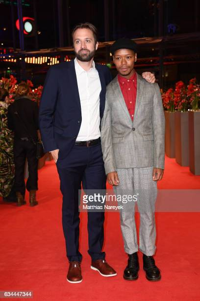 Tyron Ricketts attend the 'Django' premiere during the 67th Berlinale International Film Festival Berlin at Berlinale Palace on February 9 2017 in...