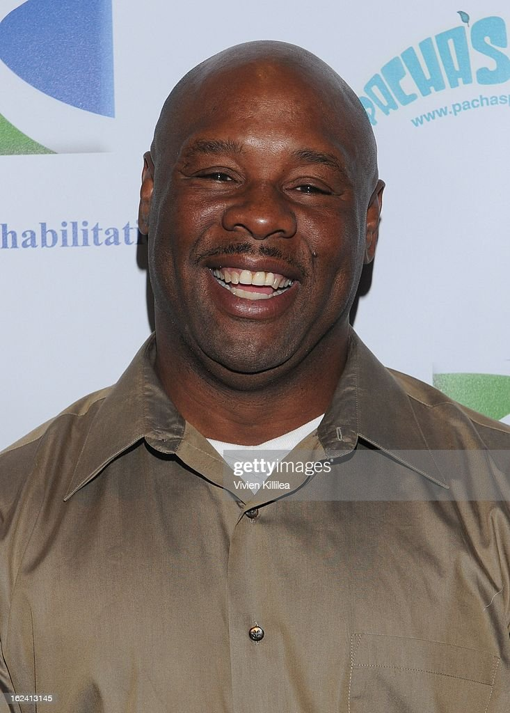Tyrone Booze attends 'Imagination Heals' Children's Art Launch at The Beverly Hilton Hotel on February 22, 2013 in Beverly Hills, California.
