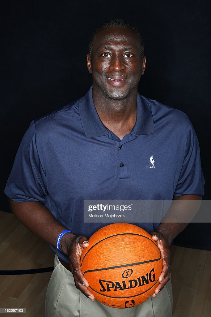 Tyrone Corbin Head Coach of the Utah Jazz poses for a photo during 2013 Media Day at Zions Basketball Center on September 30, 2013 in Salt Lake City, Utah.