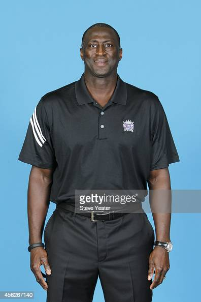 Tyrone Corbin of the Sacramento Kings poses for a photo on media day September 26 2014 at the Kings practice facility in Sacramento California NOTE...