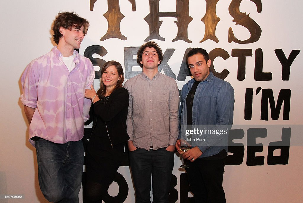 Tyrone Lebon, Emily Kai Bock, Bob Harlow and Tyrone Lebon attend the Nokia Music, SPIN, Sundance Channel and SomeSuch & Co Present New American Noise on January 18, 2013 in Park City, Utah.