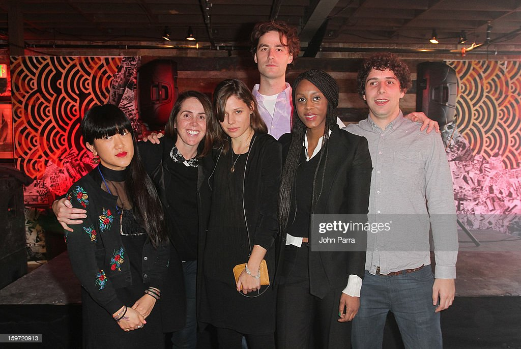 Tyrone Lebon, Emily Kai Bock, Brooke De Dard Smith and Bob Harlow attend the Nokia Music, Spin Sundance Channel and SomeSuch & Co Present New American Noise on January 18, 2013 in Park City, Utah.