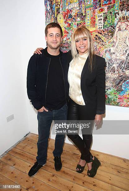 Tyrone Wood and Jo Wood attend as SCREAM launch their new Eastcastle Street gallery with a private view of artist Ye Hongxing's inaugural solo...