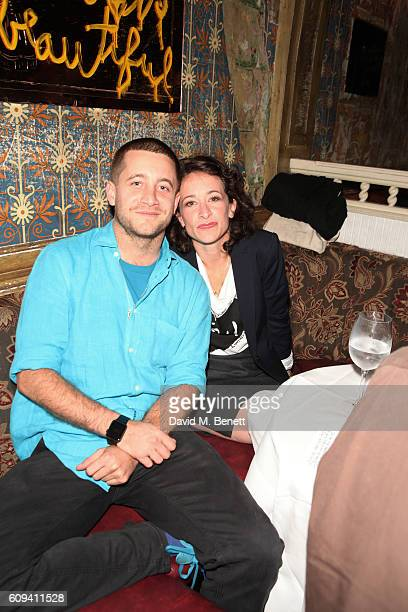 Tyrone Wood and Leah Wood attends as Dame Vivienne Westwood's Climate Revolution hosts a student night at The Box on September 20 2016 in London...