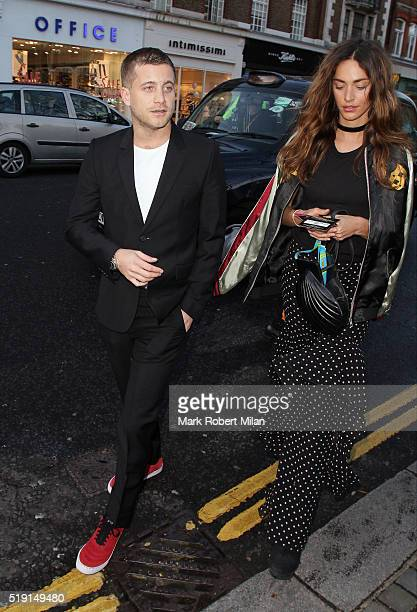 Tyrone Wood attending The Rolling Stones 'Exhibitionism' private view at the Saatchi Gallery on April 4 2016 in London England