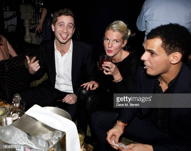 Tyrone Wood attends the 2nd Anniversary of The Box with Belvedere Vodka on February 6 2013 in London England