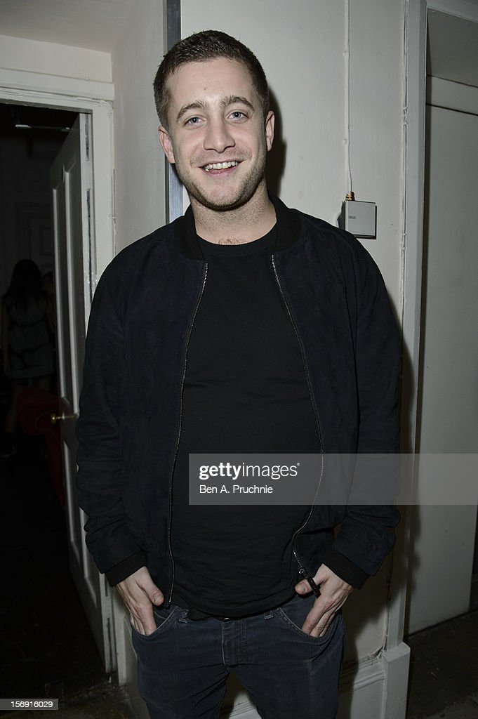 Tyrone Wood attends the Cuckoo Club and Show Pony pop up club at Grosvenor Place on November 24, 2012 in London, England.