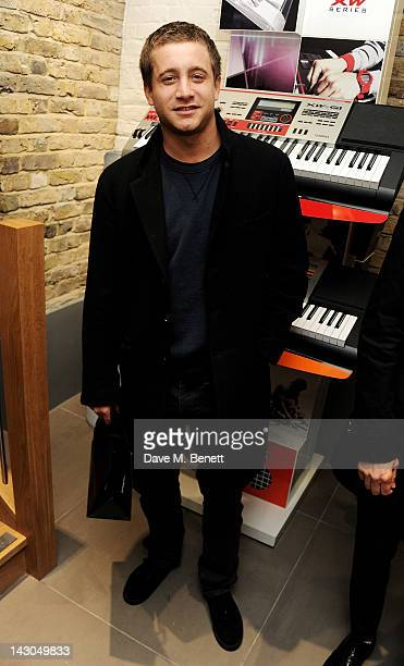 Tyrone Wood attends the launch of Casio London's Global Concept Store in Covent Garden Piazza on April 18 2012 in London England