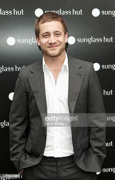 Tyrone Wood attends the launch of Sunglass Hut's new Covent Garden store on May 25 2011 in London England