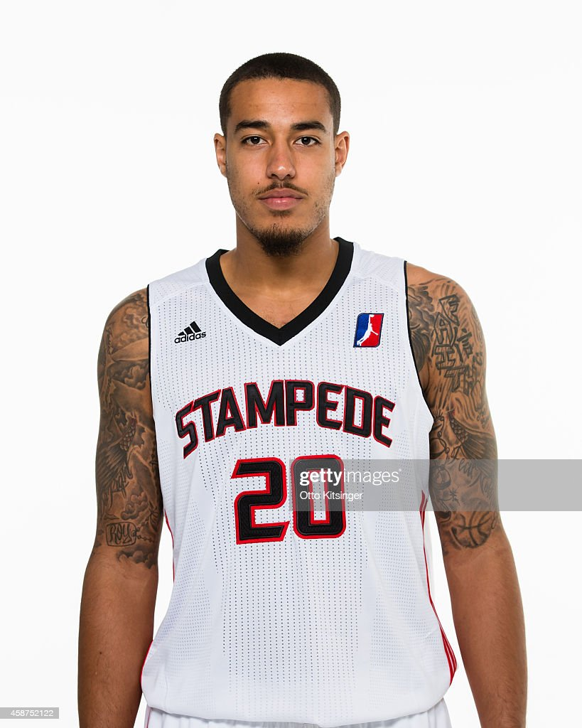 Tyrrel Tate of the Idaho Stampede poses for a portrait during Media Day on November 9 2014 at CenturyLink Arena in Boise Idaho NOTE TO USER User...