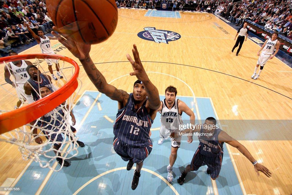 Charlotte Bobcats v Utah Jazz