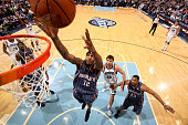 Tyrus Thomas of the Charlotte Bobcats goes up for rebound against the Utah Jazz at EnergySolutions Arena on February 24 2010 in Salt Lake City Utah...