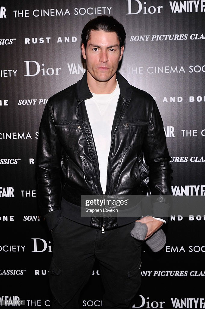Tyson Ballou attends The Cinema Society with Dior & Vanity Fair screening of 'Rust And Bone' at Landmark Sunshine Cinema on November 8, 2012 in New York City.