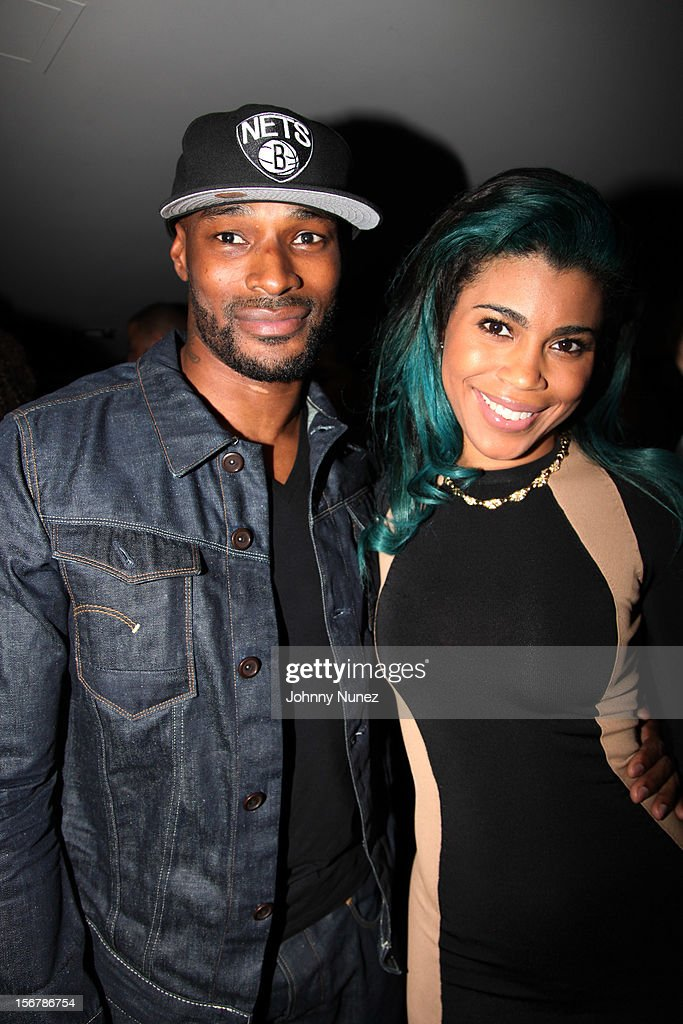 Tyson Beckford and Sofi Green attend Rihanna's 'Unapologetic' Record Release Party at 40 / 40 Club on November 20, 2012 in New York City.