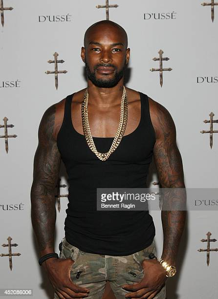 Tyson Beckford attends D'USSE VIP Riser Lounge At On The Run Tour MetLife Stadium on July 12 2014 in East Rutherford City