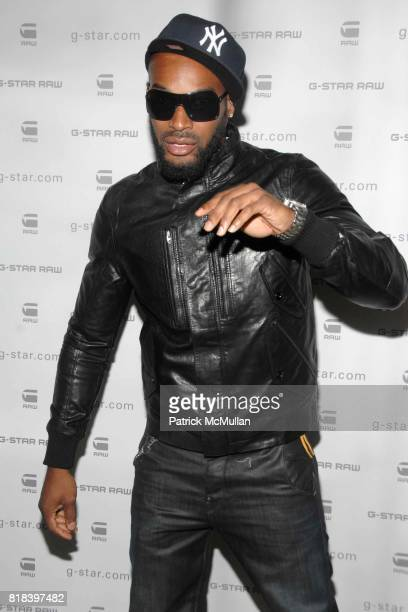 Tyson Beckford attends GSTAR RAW Presents NY RAW Fall/Winter 2010 Collection Arrivals at Hammerstein Ballroom on February 16 2010 in New York City