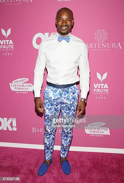 Tyson Beckford attends OK Magazine's So Sexy NYC Event at HAUS Nightclub on May 13 2015 in New York City