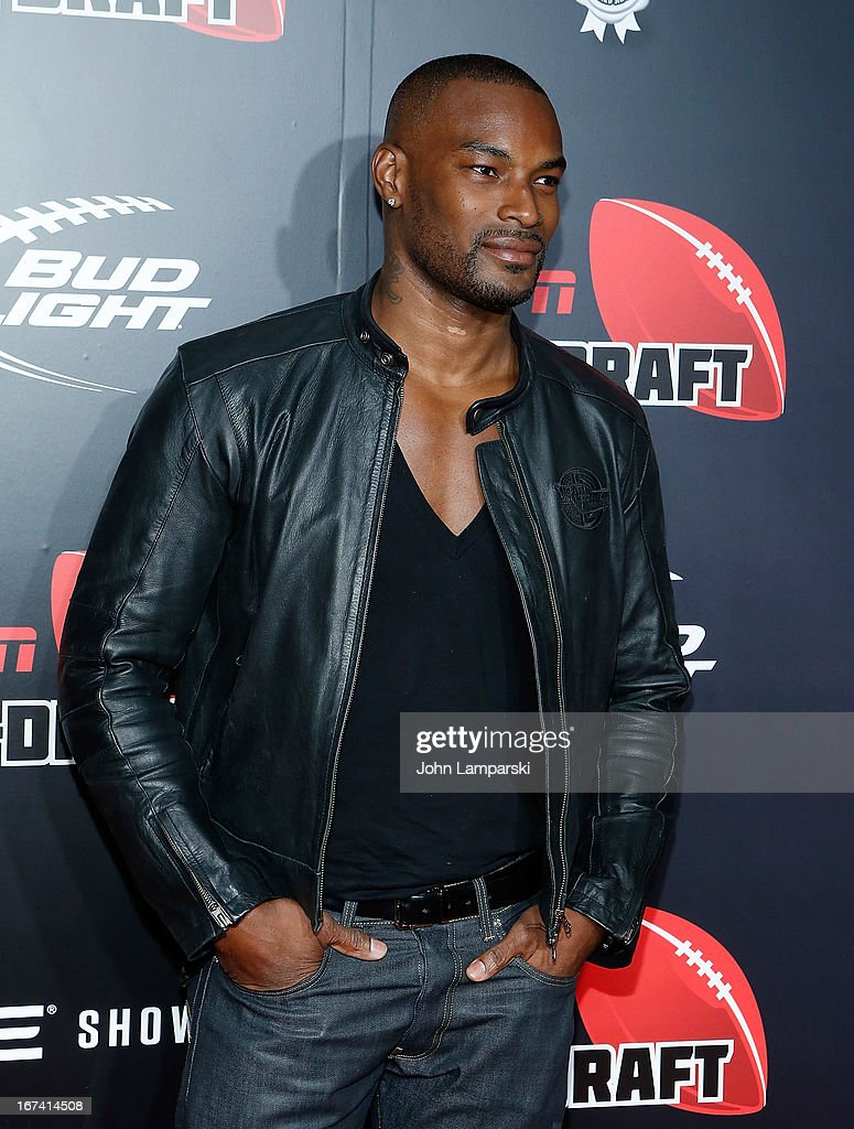 <a gi-track='captionPersonalityLinkClicked' href=/galleries/search?phrase=Tyson+Beckford&family=editorial&specificpeople=210873 ng-click='$event.stopPropagation()'>Tyson Beckford</a> attends the 10th Annual ESPN The Magazine Pre-Draft Party>> at The IAC Building on April 24, 2013 in New York City.