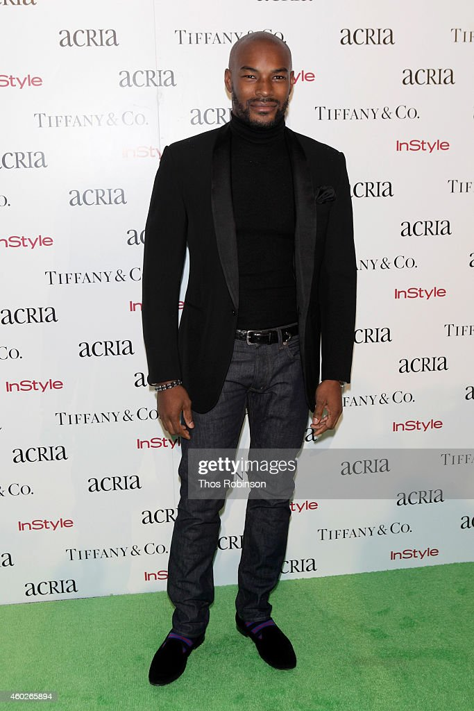 Tyson Beckford attends the 19th Annual ACRIA Holiday Dinner at Skylight Modern on December 10, 2014 in New York City.