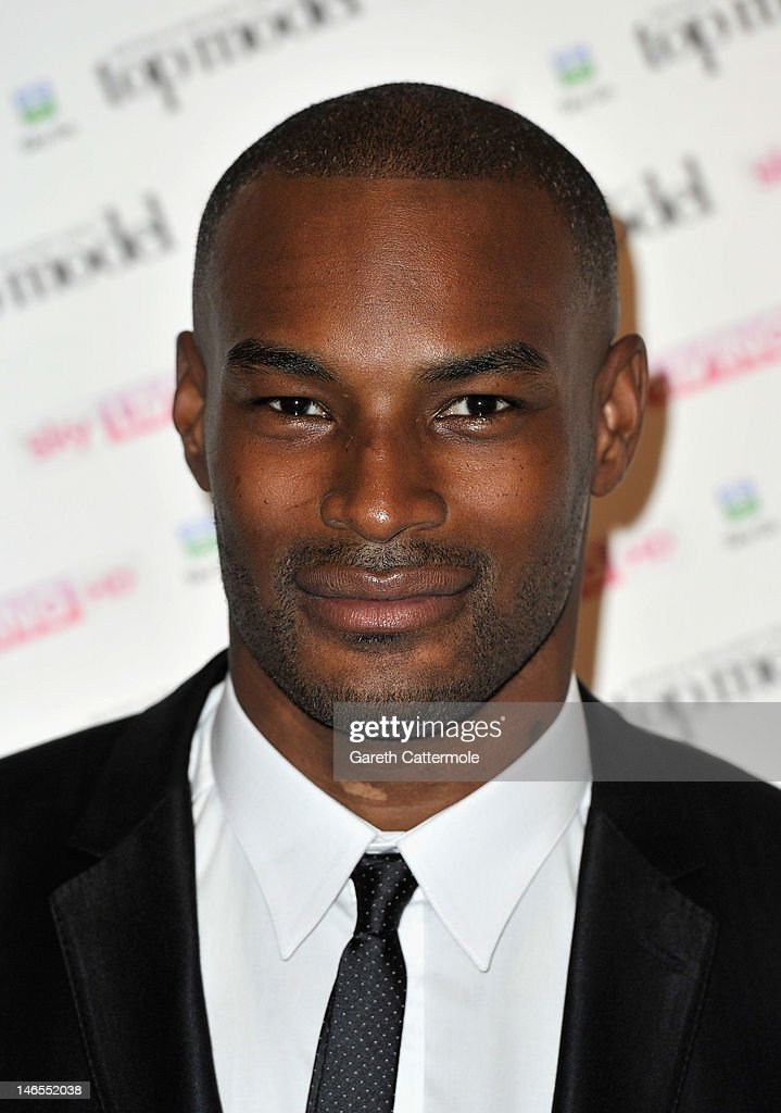 <a gi-track='captionPersonalityLinkClicked' href=/galleries/search?phrase=Tyson+Beckford&family=editorial&specificpeople=210873 ng-click='$event.stopPropagation()'>Tyson Beckford</a> attends the launch of Sky Living's model search at Claridges Hotel on June 19, 2012 in London, England.