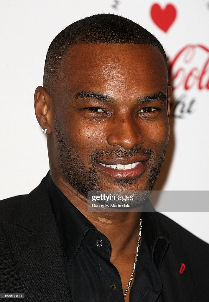 Tyson Beckford attends the launch party announcing Marc Jacobs as the Creative Director for Diet Coke in 2013 on March 11, 2013 in London, England.