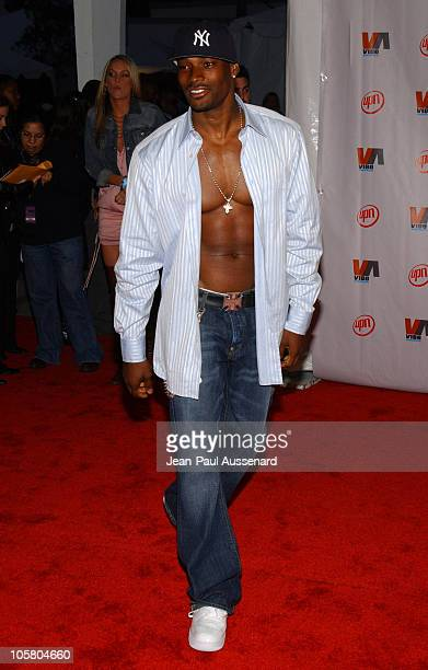 Tyson Beckford during 2003 VIBE Awards Arrivals at Civic Auditorium in Santa Monica California United States