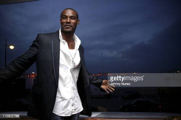 Tyson Beckford during 2005 Cannes Film Festival DG Afterparty at Mediterranean Sea in Cannes Nice France