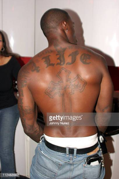 Tyson Beckford during Mashonda Listening Session for J Records August 16 2005 at Monza Studio in New York City New York United States