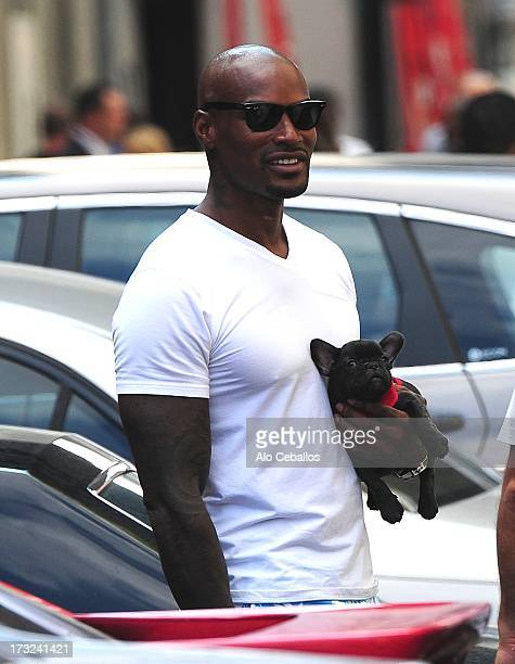 Tyson Beckford is seen in the Meatpacking District on July 10 2013 in New York City