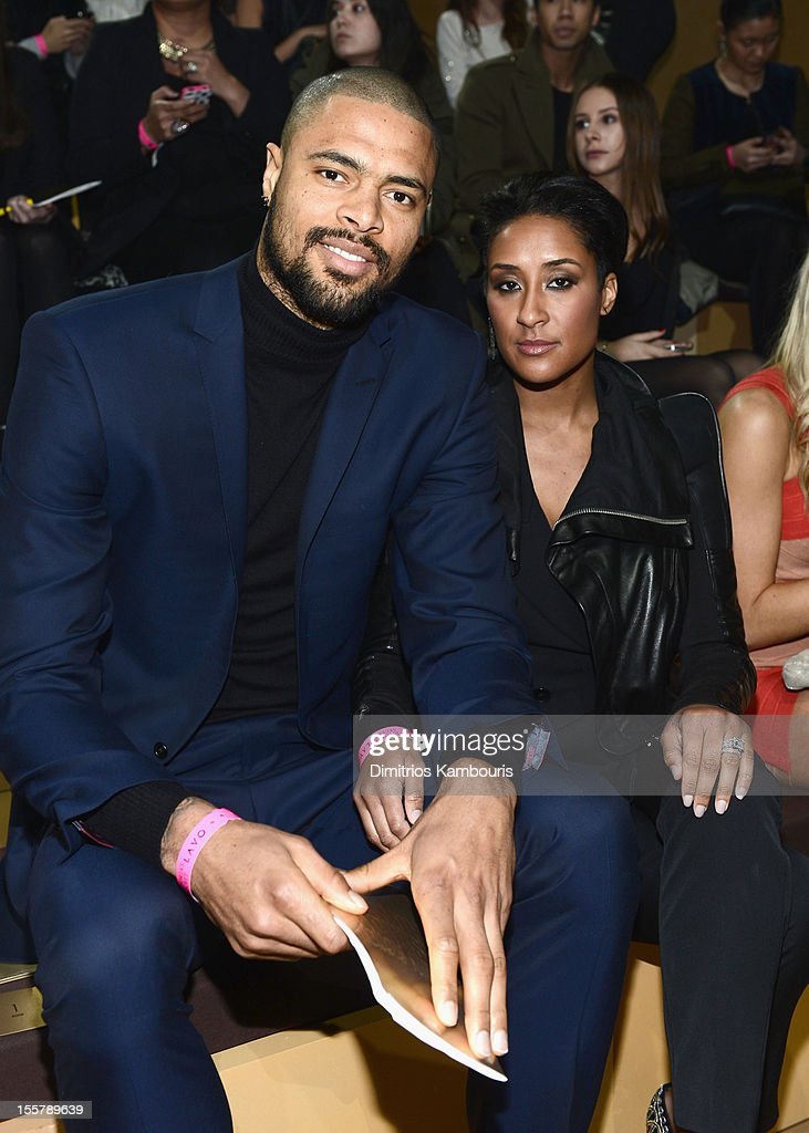 Tyson Chandler and Kimberly Chandler attend the 2012 Victoria's Secret Fashion Show at the Lexington Avenue Armory on November 7, 2012 in New York City.