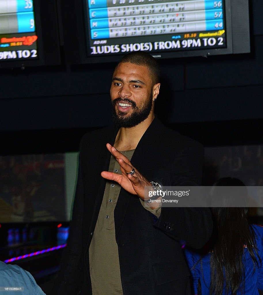 Tyson Chandler attends the 14th Annual Knicks Bowl at Chelsea Piers on February 11, 2013 in New York City.