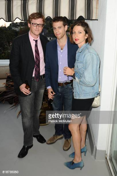 Tyson Cornell Kolby Yarnell and Kate Wolf attend Bret Easton Ellis to celebrate the publication of his new novel IMPERIAL BEDROOMS at Penthouse on...