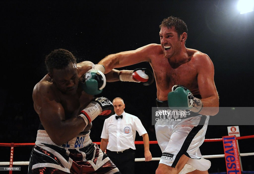 Dereck Chisora v Tyson Fury - British & Commonwealth Heavyweight Title Fight