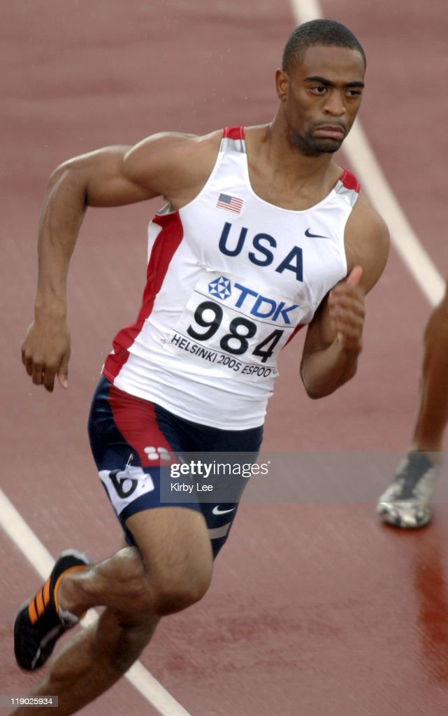 from Mohamed tyson gay 200 meters
