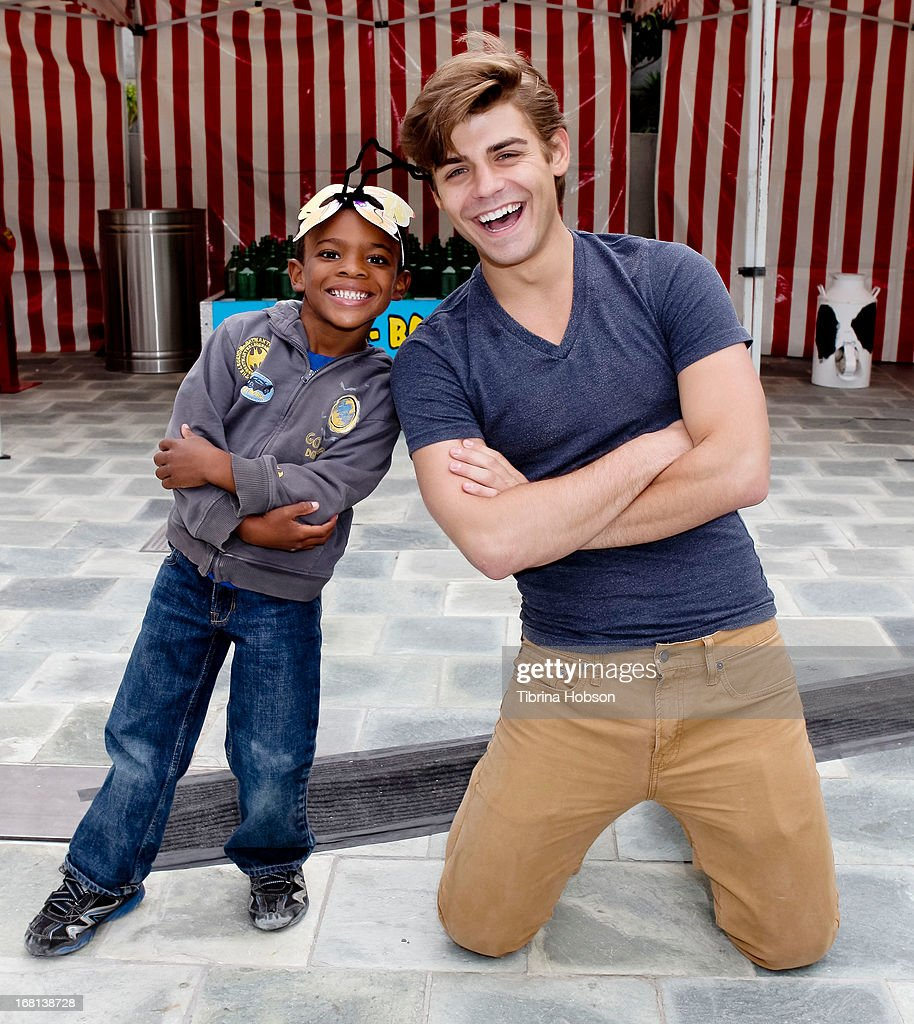 Tyson hansen and Garrett Clayton attend the 9th annual First Star Celebration of children's rights at Skirball Cultural Center on May 5, 2013 in Los Angeles, California.