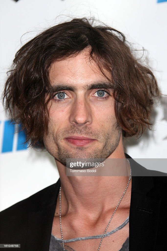 <a gi-track='captionPersonalityLinkClicked' href=/galleries/search?phrase=Tyson+Ritter&family=editorial&specificpeople=227469 ng-click='$event.stopPropagation()'>Tyson Ritter</a> attends the 102.7 KIIS FM and Star 98.7 host 5th annual celebrity and artist lounge celebrating the 55th annual GRAMMYS at ESPN Zone At L.A. Live on February 8, 2013 in Los Angeles, California.
