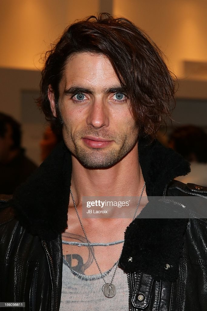 <a gi-track='captionPersonalityLinkClicked' href=/galleries/search?phrase=Tyson+Ritter&family=editorial&specificpeople=227469 ng-click='$event.stopPropagation()'>Tyson Ritter</a> attends the TopMen Exclusive Pop Up Shopping Event at TopShop on January 9, 2013 in Los Angeles, California.